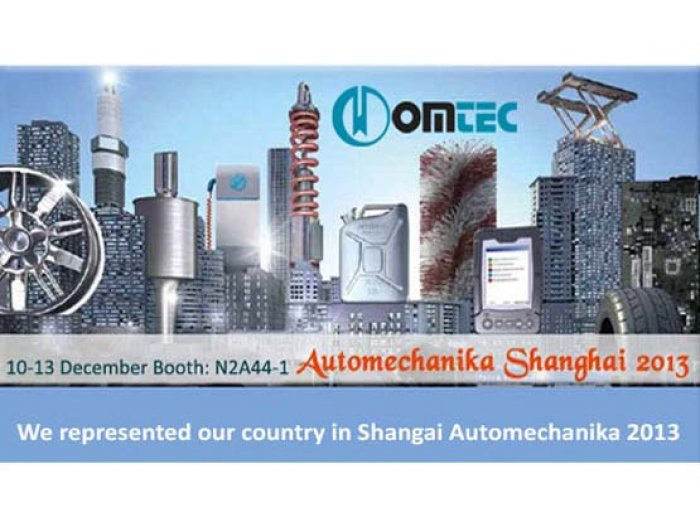 AUTOMECHANİKA SHANGHAİ 2013
